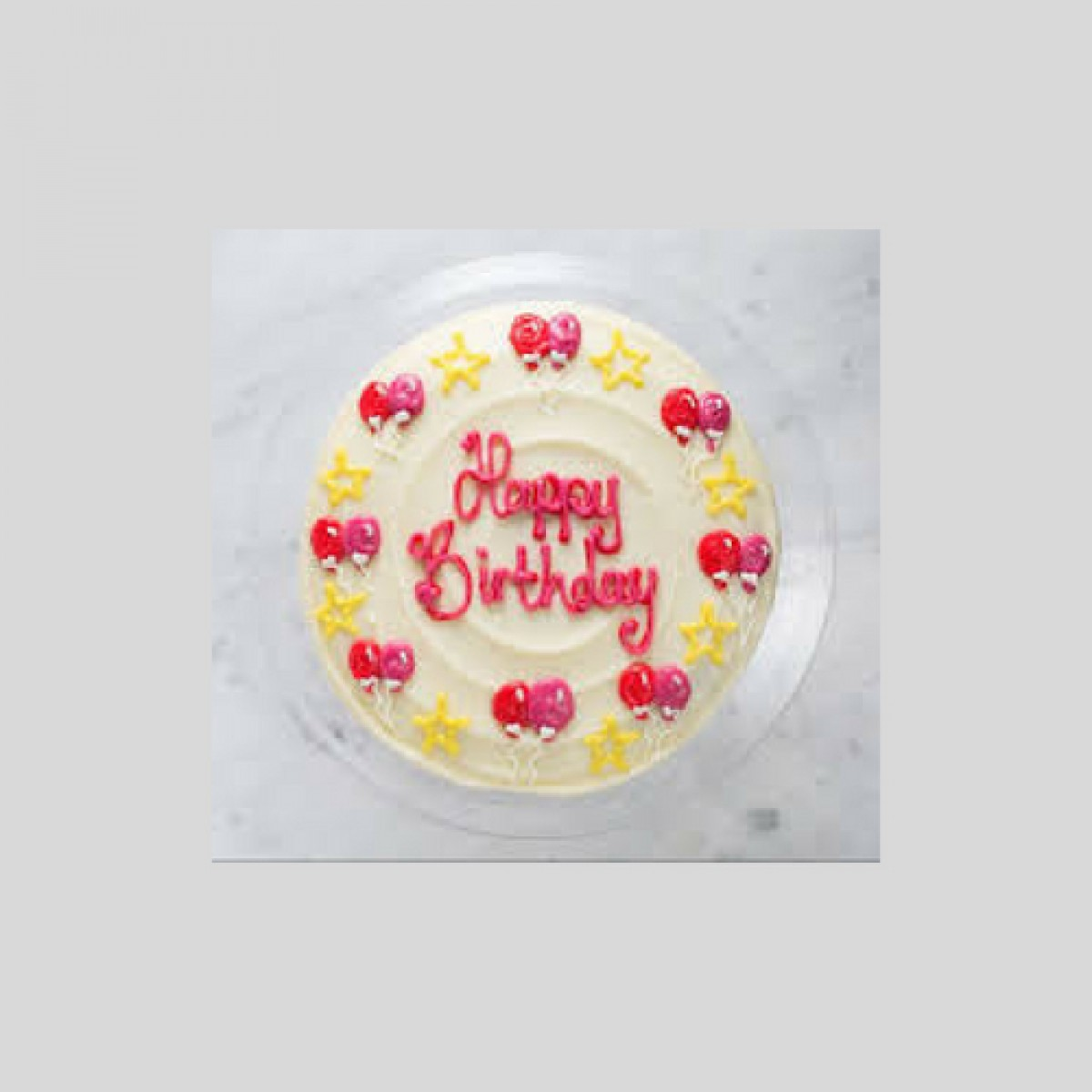 Birthday Butterscotch Cake 1Kg