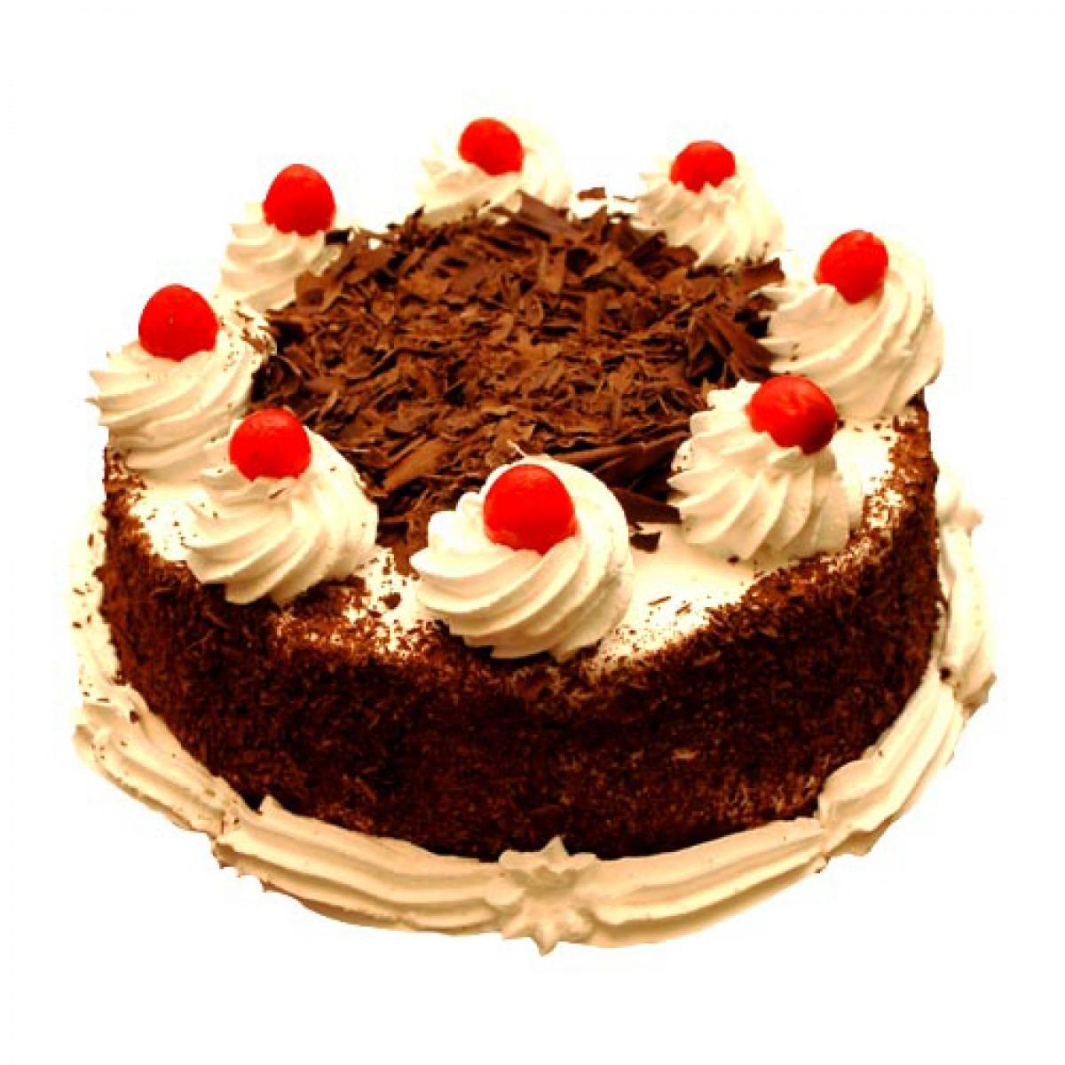 Cake Designs For Half Kg : Black Forest Cake Half Kg Buy Gifts Online