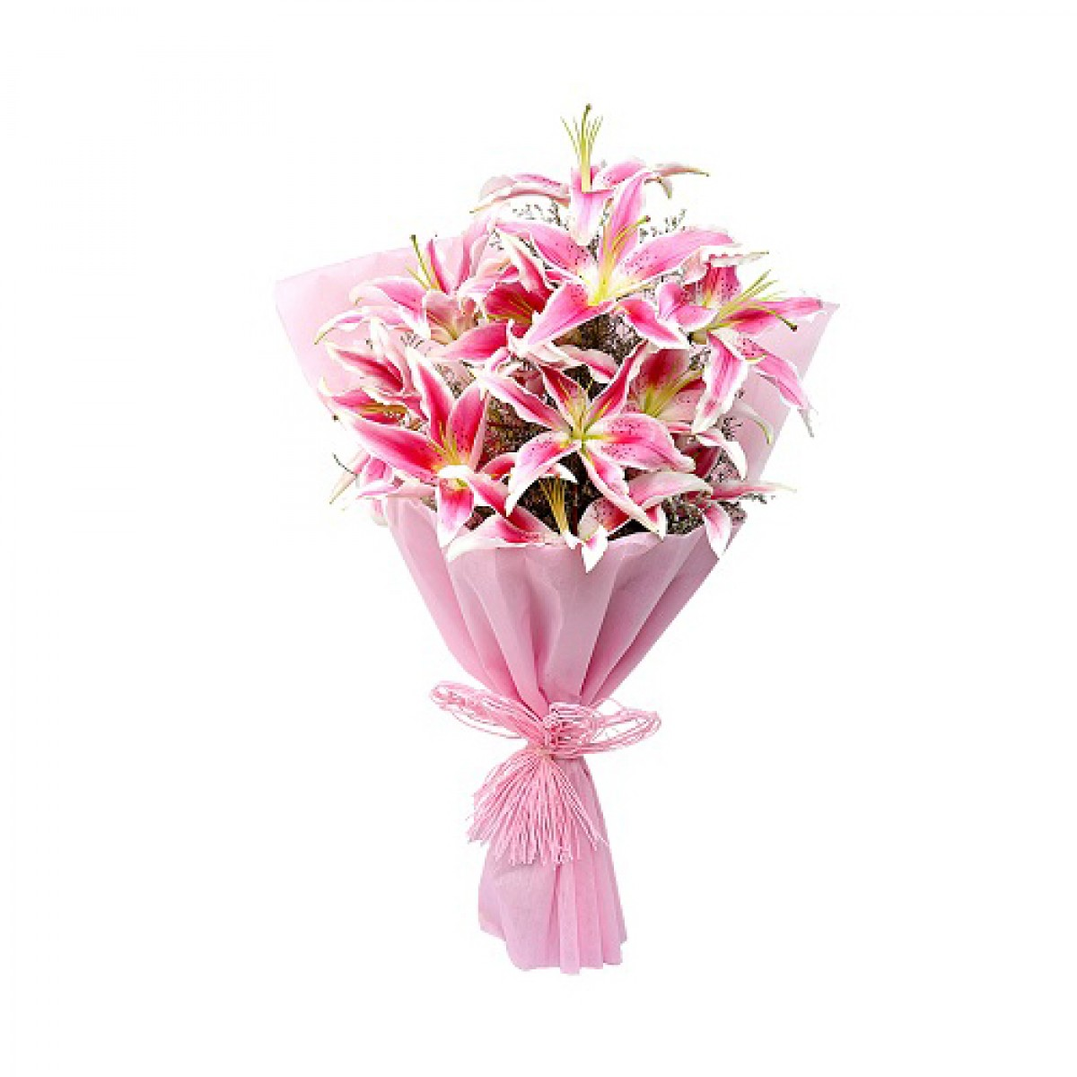 pink lily bouquet buy gifts online