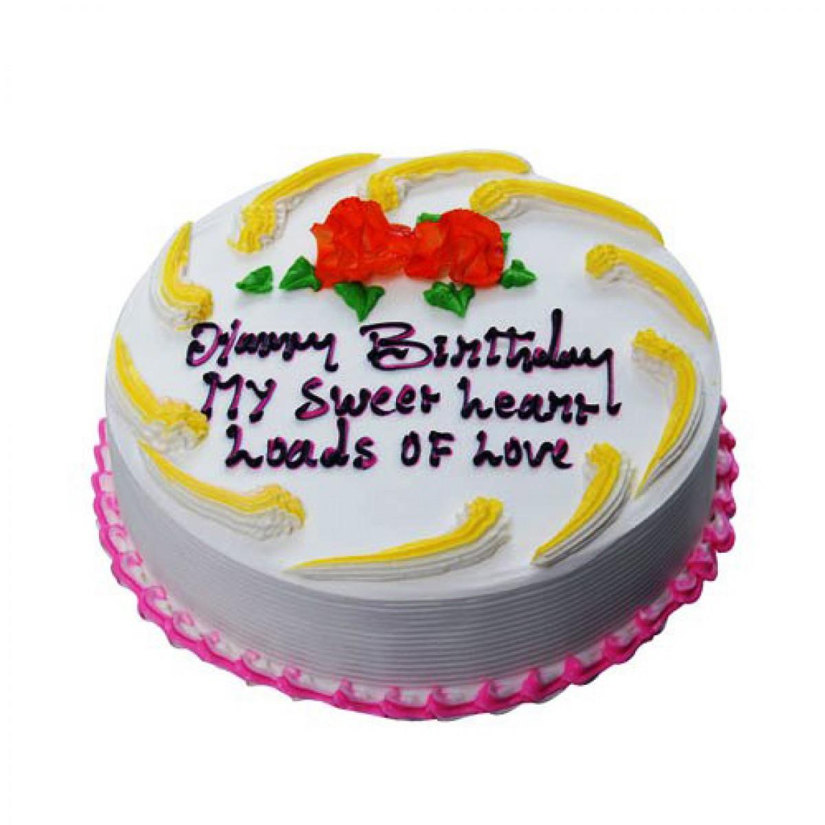 Vanilla Delight Cake 1Kg