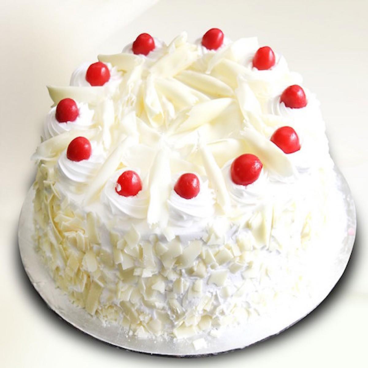 Housewarming Gifts White Forest Cake 1 Kg Skucak2017pl1