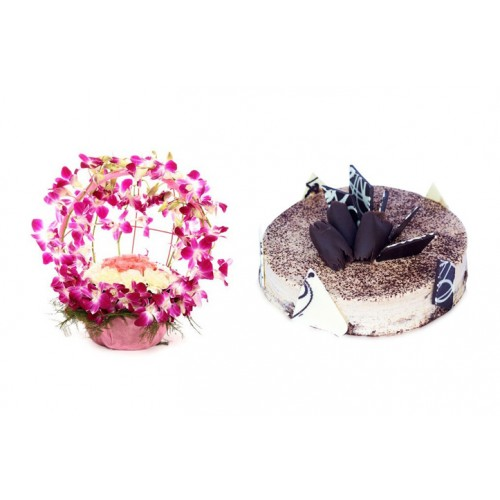 Wedding Gift Ideas Kerala : home more gift ideas wedding gift set tiramisu cake mixed flower ...