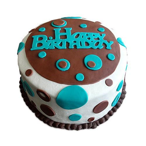 Birthday Cake 1kg - KGS-CAK102