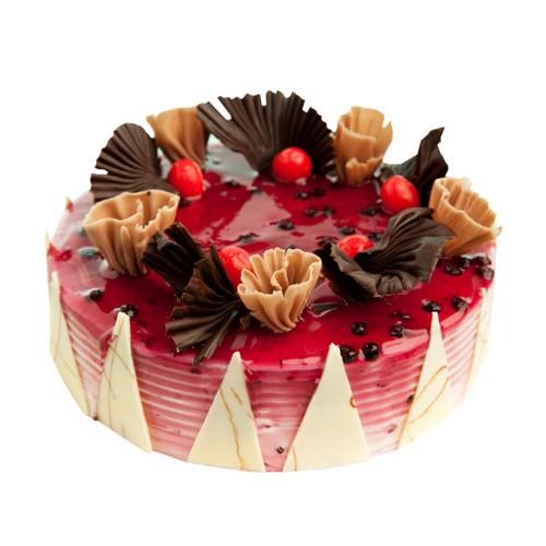 Blueberry Cake Half Kg - KGS-CAK148