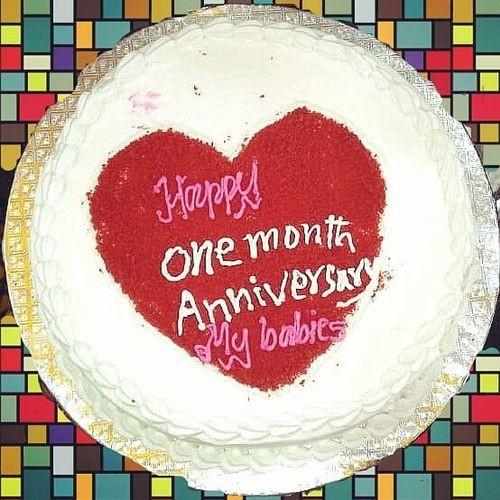 Butterscotch Anniversary Cake 1Kg - SKUCAK20184