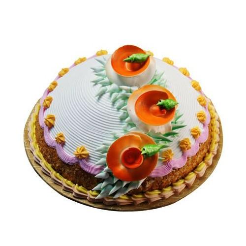 Butterscotch Mountain Cake 1Kg - KGS-CAK157