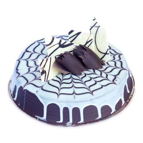 Chocolate and Vanilla Cake Half Kg - KGS-CAK132