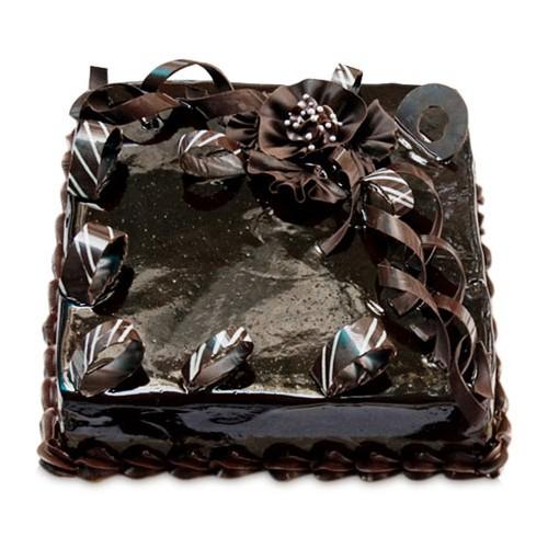 Chocolate Splash Cake 1Kg - KGS-CAK159