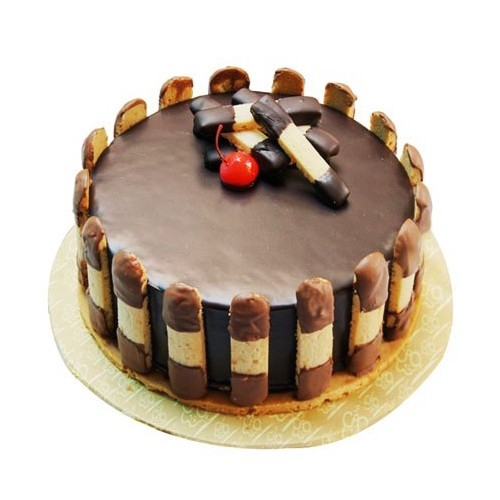 Crunchy Chocolate Cake 1Kg - KGS-CAK170