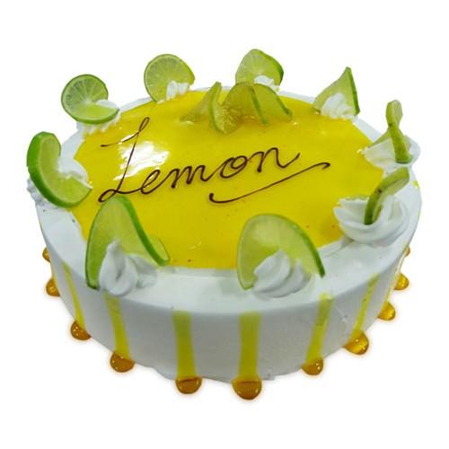 Eggless Lemon Cake 1Kg - KGS-CAK163