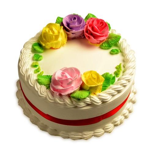 French Vanilla Cake Half Kg - KGS-CAK137