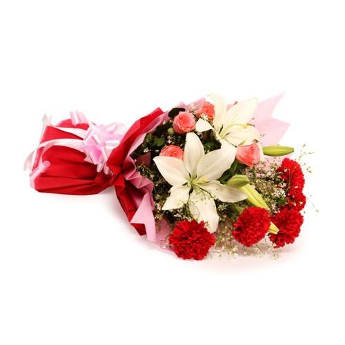 Mixed Flowers Bunch - KGS-FLR122