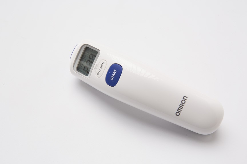 Omron MC-720 non-contact Forehead Thermometer നിങ്ങളുടെ കുടുംബത്തെ സന്തോഷിപ്പിക്കൂ കരുതലോടെയും സ്നേഹത്തോടെയും