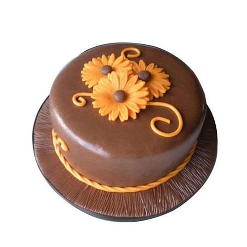 Orange Chocolate Cake 1kg - KGS-CAK106