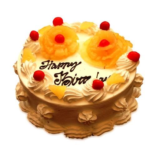 Pineapple Cake Half kg - KGS-CAK104