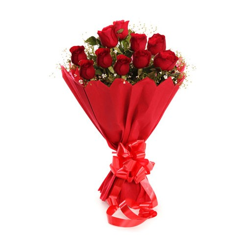 Red Rose Bunch - KGS-FLR121