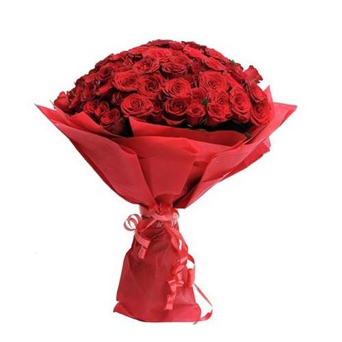 Red Rose Flower Bouquet - KGS-FLR103
