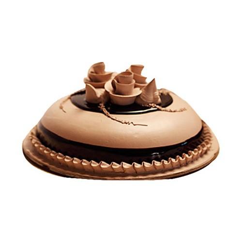 Round Chocolate Cake Half Kg - KGS-CAK110