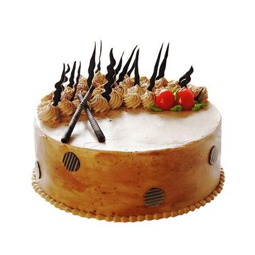 Round Musical Cake 1Kg - KGS-CAK176
