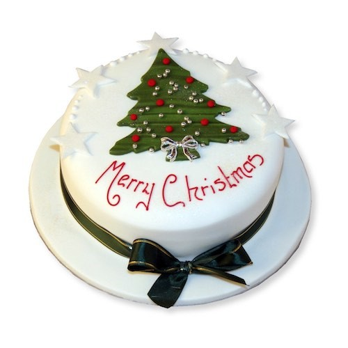 1 KG - Christmas Theme Cake 6