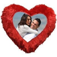 Personalized Heart Shape Pillow - നിങ്ങളുടെ പ്രിയപ്പെട്ടവരുടെ ഫോട്ടോയും സന്ദേശവും പതിച്ച തലയണകൾ