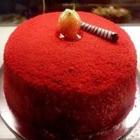 Red Velvet Cake 1Kg - KGS-CAK111