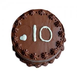 Anniversary Chocolate Cake 1kg - KGS-CAK113