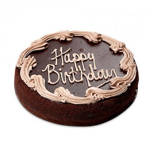 Birthday Chocolate Cake 1kg - KGS-CAK112