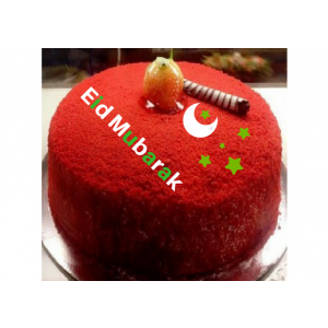 Eid Special Red Velvet Cake - EIDCAK2017-2