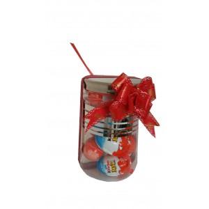 Gift in a Jar – Kinder joy Surprise Egg.