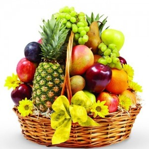 Mixed Fresh Fruits Basket - MFB2017-1