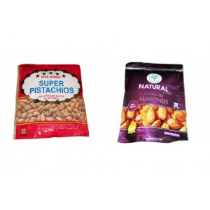 Mixed Nuts Set - Pistachios and Almonds - NUTSET2
