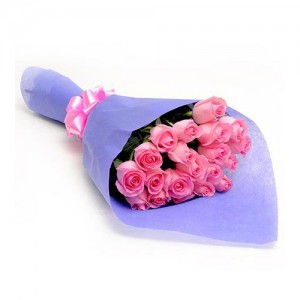 Pink Rose Bouquet - KGS-FLR134