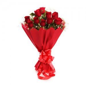 Red Rose Bunch - KGS-FLR121