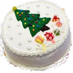 1 KG - Christmas Theme Cake 2