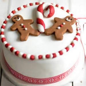 1 KG - Christmas Theme Cake 4