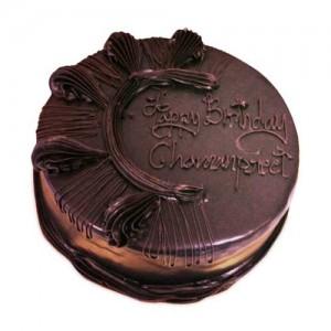 Chocolate Celebration Cake 1Kg - KGS-CAK143