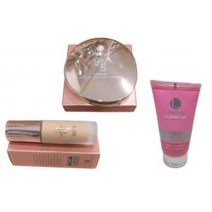 Makeup Bundle - Lakme Foundation, Complexion Compact & Fairness Face Wash - OBCBUND2