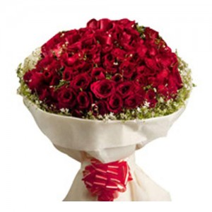 Red Rose Bouquet - KGS-FLR124