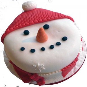 1.5 KG - Christmas Theme Cake 5