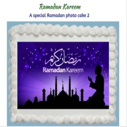 Ramadan Cake 2Kg - SKUCAK2018RMD2