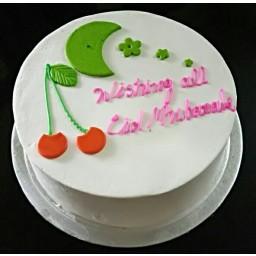Eid Special Vanilla Cake - EIDCAK2017-3