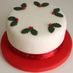 1 KG - Christmas Theme Cake 1