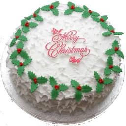 1 KG - Christmas Theme Cake 3